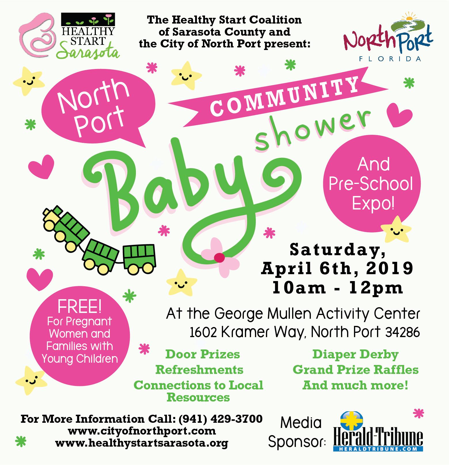 North Port Baby Shower Flyer_4.924 w x 5.25 h